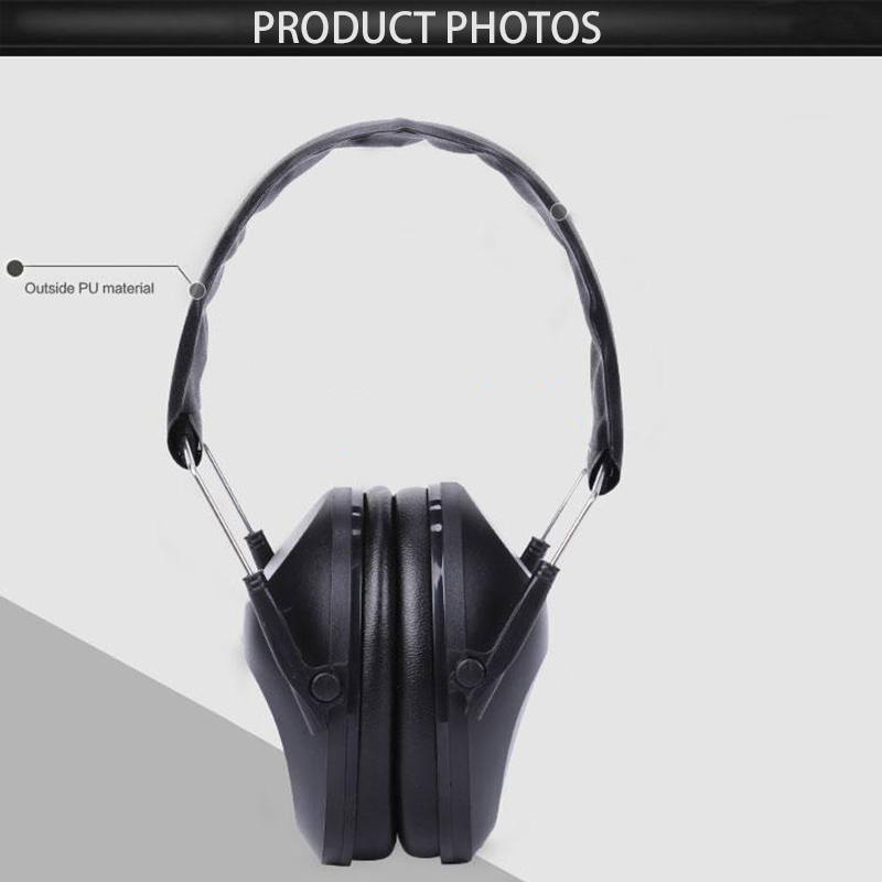 Noise Reduction Headphone Protective Tactical Soundproof For Shooting Earphone Noise Reduction Safety Anti-noise Ear Protector