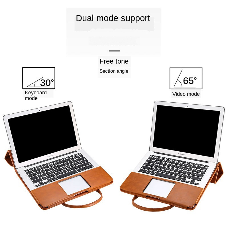 Image 3 - Multi use 13 inch Laptop Bag for MacBook Air 13 PU Leather 12,13.3,15.4 inch Laptop Case for MacBook Pro 13 PU Notebook BagLaptop Bags & Cases   -