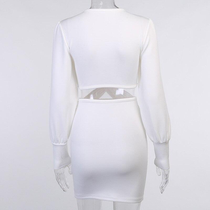 long sleeve white dress06