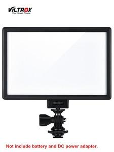 Image 1 - Viltrox L116T LED الفيديو الضوئي رقيقة جدا LCD ثنائية اللون و عكس الضوء DSLR استوديو مصباح ليد مصباح لوحة للكاميرا كاميرا فيديو DV