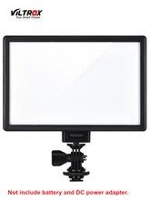 Viltrox L116T Luz de vídeo LED ultradelgada LCD bicolor y regulable DSLR Studio Panel de lámpara de luz LED para cámara DV videocámara