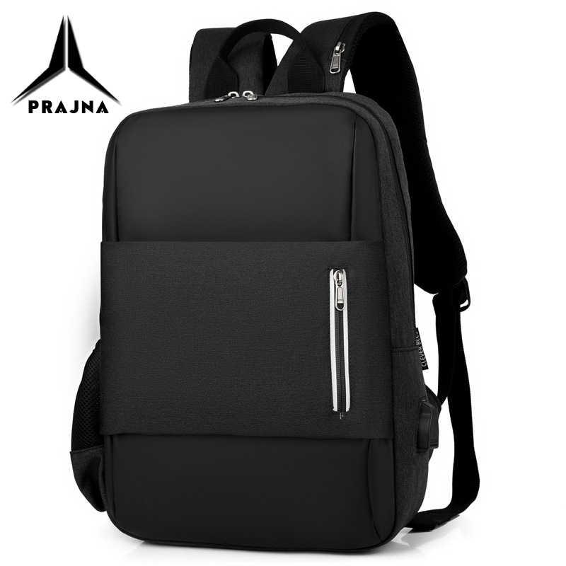 School Backpack Laptop Bags 15.6 Inch A4 Book Waterproof Anti-theft Bagpack Light Notebook Bag For Men Mochila Bagpack PRAJNA