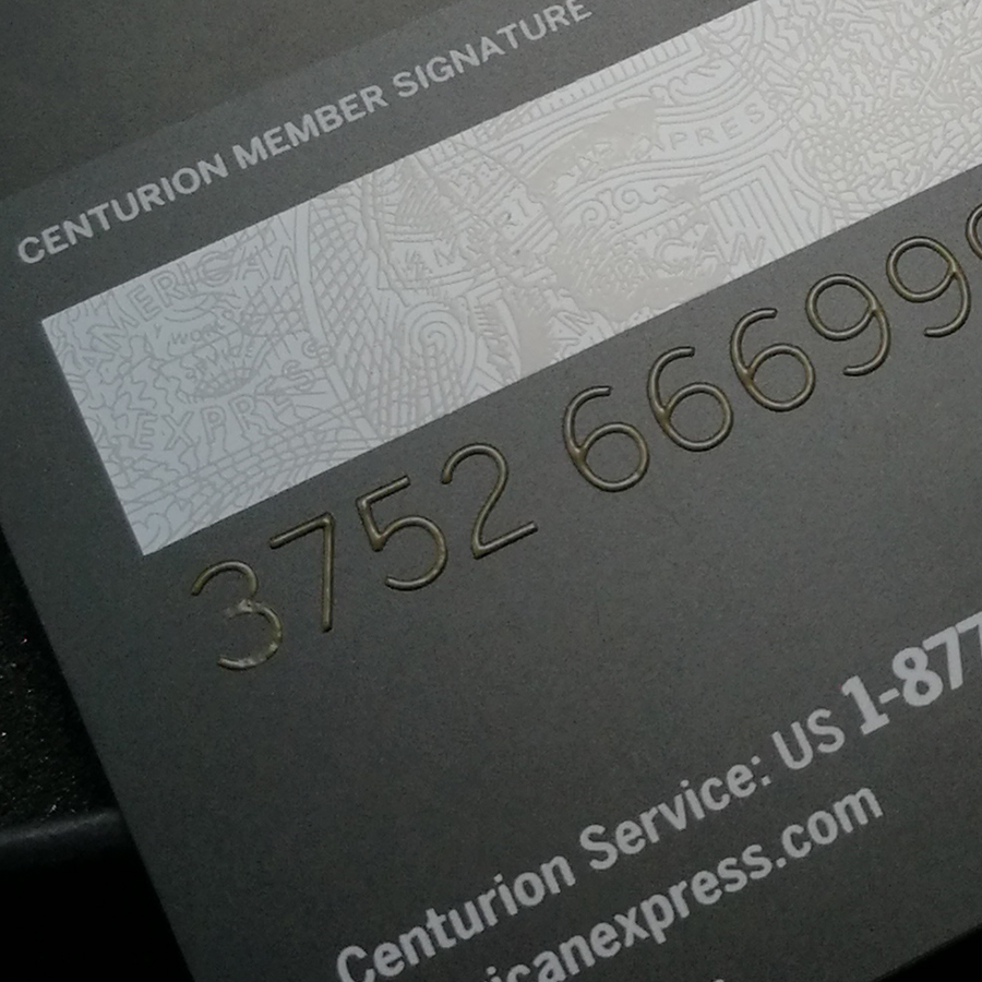 Metal card black card and production American express gift card 2