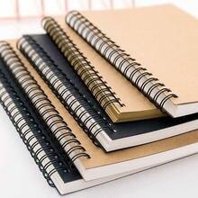 Sketch Tagebuch Für Zeichnung Malerei Graffiti Weiche Abdeckung Schwarz Papier Sketch Notizblock Notebook Büro Schule Liefert 1PC