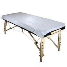 100 unidades de sábana de mesa de masaje desechable de textil no tejido para incontinencia, Sábana de mesa de masaje, belleza Facial