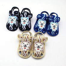 Newborn Baby Girl Shoes Printing Cartoon Prewalker Soft Sole Kids Shoes Single Baby Schoenen Melissa Детская Обувь Zapatos Bebe(China)