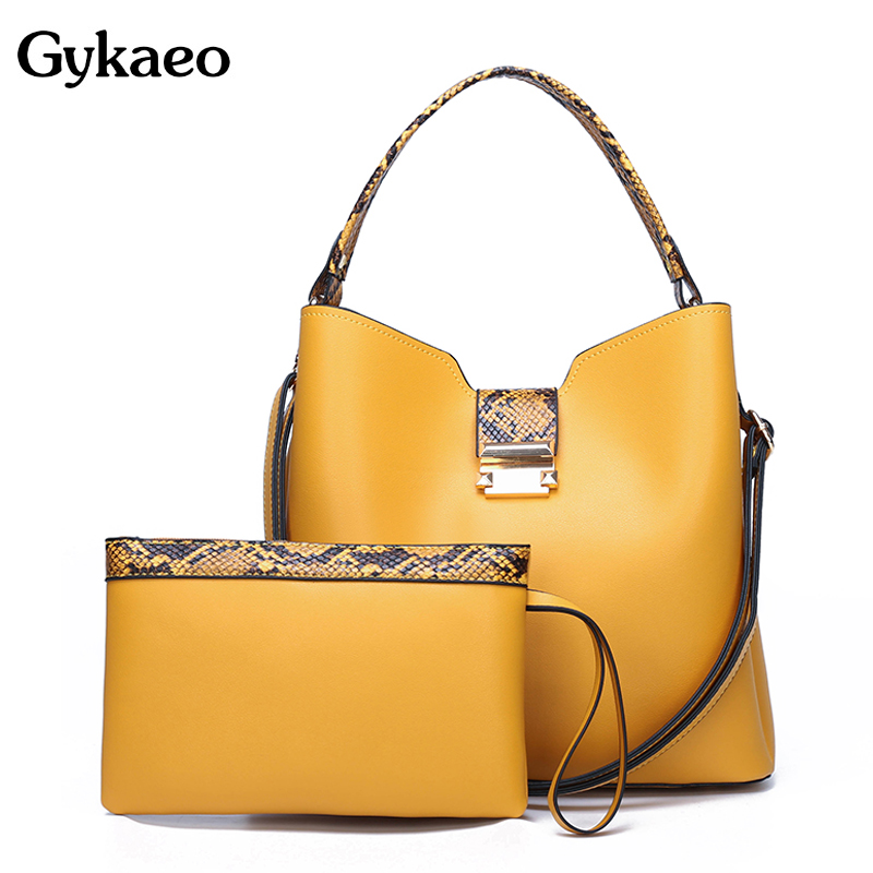 Luxury Handbags Women Bags Designer Fashion Purses And Handbags Woman PU Leather Bucket Tote Bag Ladies Casual Shoulder Bags Sac