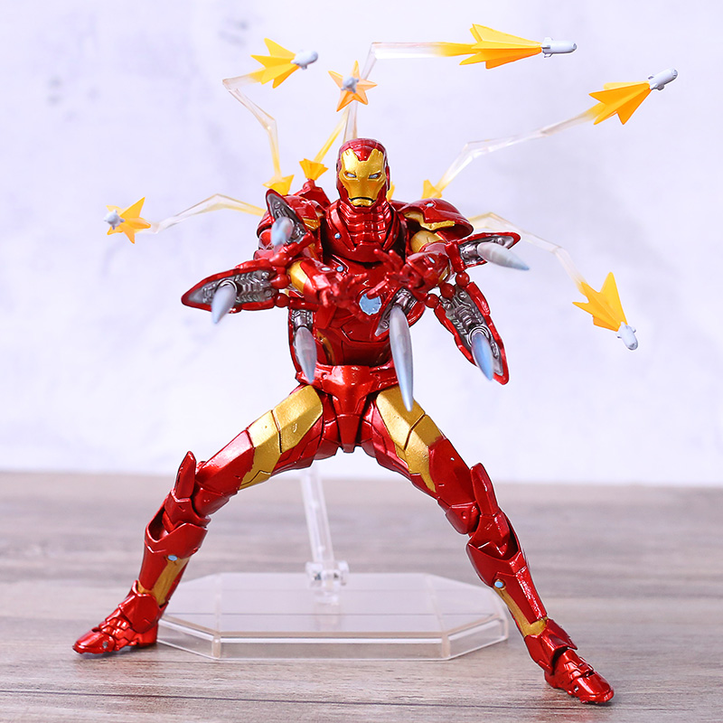 Tv Movie Video Games Amazing Yamaguchi Revoltech No 013 Iron Man Bleeding Edge Armor Action Figure Woodland Resort Com