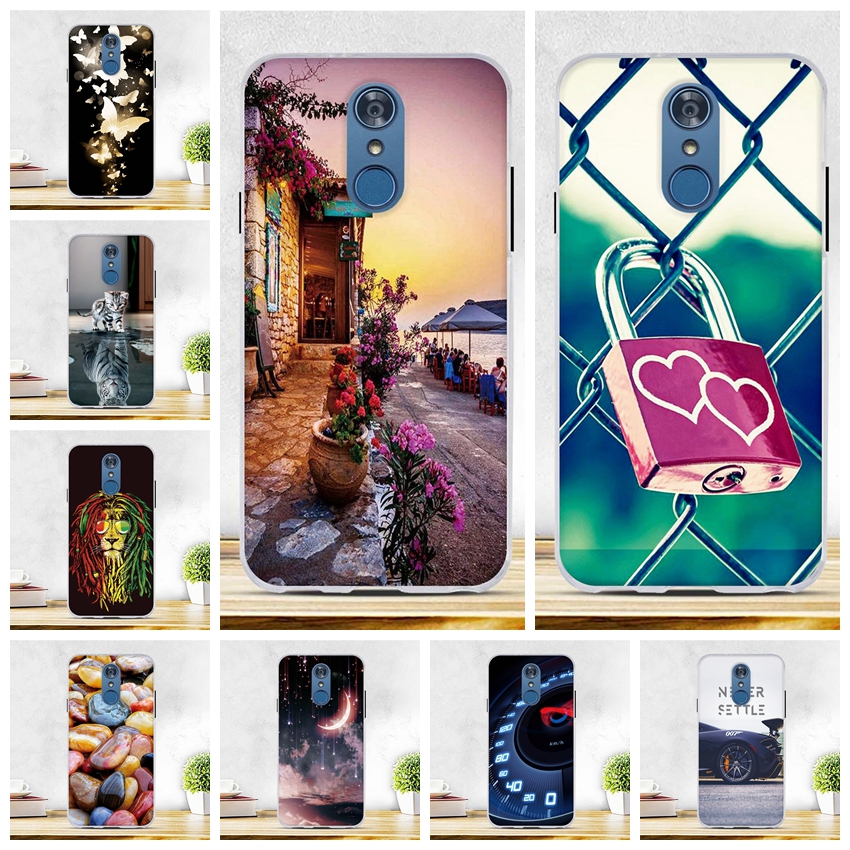 Case For Coque LG Q7 Case Silicone Soft TPU Black Shell Cover For Fundas LG Q7 Plus Cover Q7 Alpha L-03K 5.5Inch Phone Bag Cases