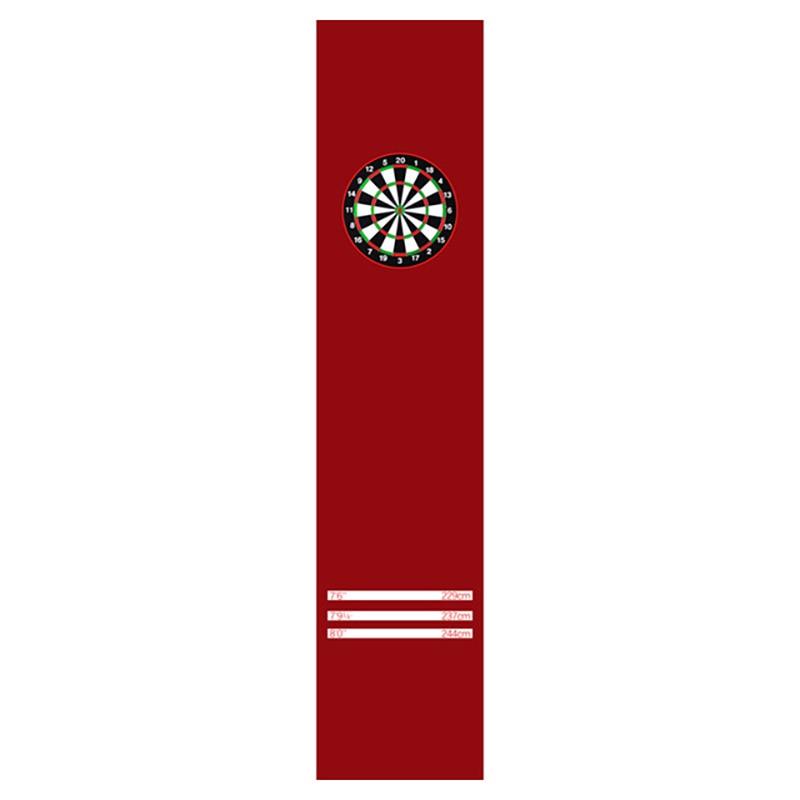 66*300cm chambre tapis sol fléchettes tapis tapis pour salon moderne tapis cuisine Vintage noir rouge tapis chambre tapis paillasson - 4