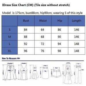 Image 5 - IDress ฤดูร้อนผู้หญิงเซ็กซี่ Sequined ชุดราตรีหญิง Elegant Backless Long Maxi ชุด Vestido Elegant Long Dresses