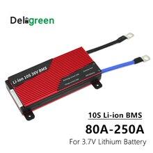 Bms 10 s 80a 100a 120a 150a 200a 250a pcm/pwb/bms para li ion ncm bateria para bicicleta elétrica e proteção de scooter e bike