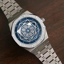 DIDUN watch men luxury steel quartz watch men business
