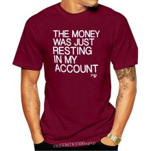 The Money Was Only Resting In My Account Gent's Official Father Ted T shirt Navy Short Sleeve T shirt Tops