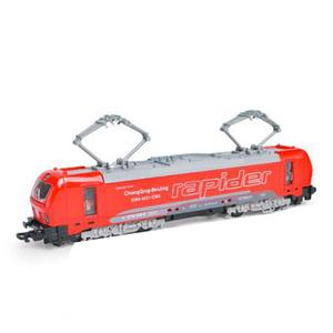 Image 3 - 1:32 alloy single section tram model,pull back train model,simulation of colorful lights,can open childrens toys
