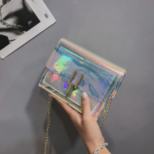 Korean Style Fashion Bag/Womens Shoulder Bag/Transparent Handbag/Jelly Crossbody Bag Women Clutch