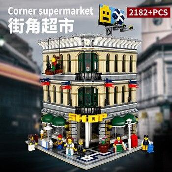 15005 Creator Series Street View Department Store Grand Emporium Building Blocks 2232pcs Bricks Toys Compatible Creator 10211 1