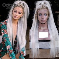 COLODO Preplucked Transparent Lace Pink Color Wig 150 Brazilian Ombre Human Hair Wig Remy Hair Glueless Full Lace Wigs for Women