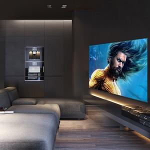 Лучший металлический гибкий экран для проектора 100 дюйма 1 см ультра рамка из алюминиевого сплава для 3d-фильмов