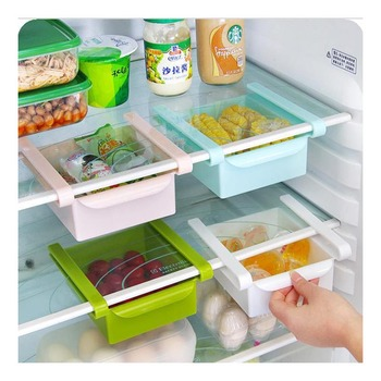 1PCS Small/big Transparent PP Storage Box Storage Contain Sealed Jar Home Organizer Food Container Refrigerator Storage Boxes image