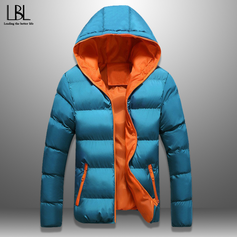 Winter Jackets Men Women Casual Warm Coat Windproof Hooded Jacket Padded Couple Wear Thick Jacket Men Outwear Overcoat Plus 5XL