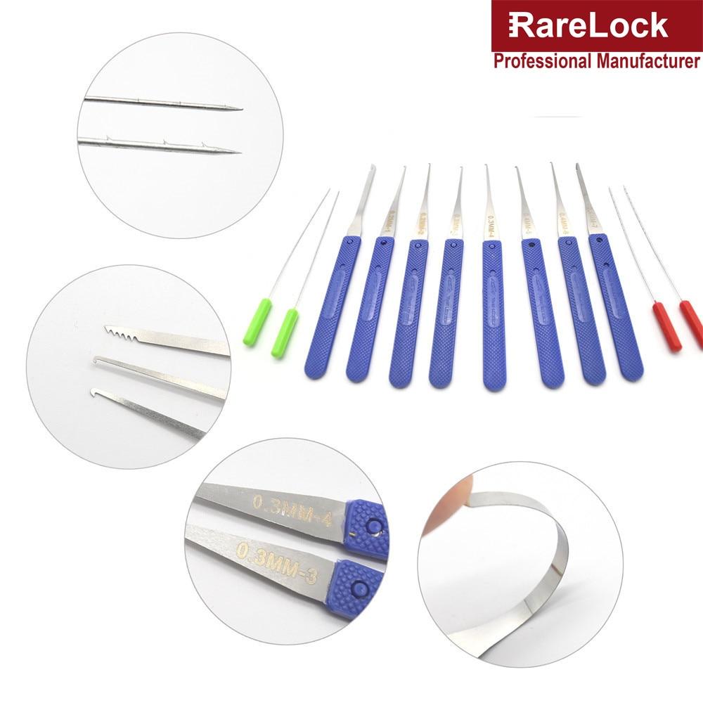 Rarelock Lukksepa luku valimise tööriistade komplekt läbipaistva - Käsitööriistad - Foto 6