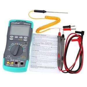 HoldPeak HP-890CN Digital Multimeter DCAC Voltage Current Meter Temperature Meaurement Auto Range HP890CN(China)