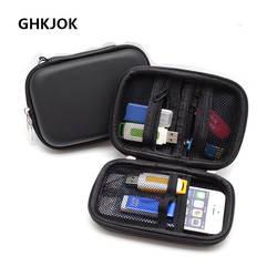 Новый жесткий сумка держатель карты SD USB кабель U диска Сумка Чехол для мобильного Мощность телефон SD карты USB flash Drive случае мини Hdd BOX
