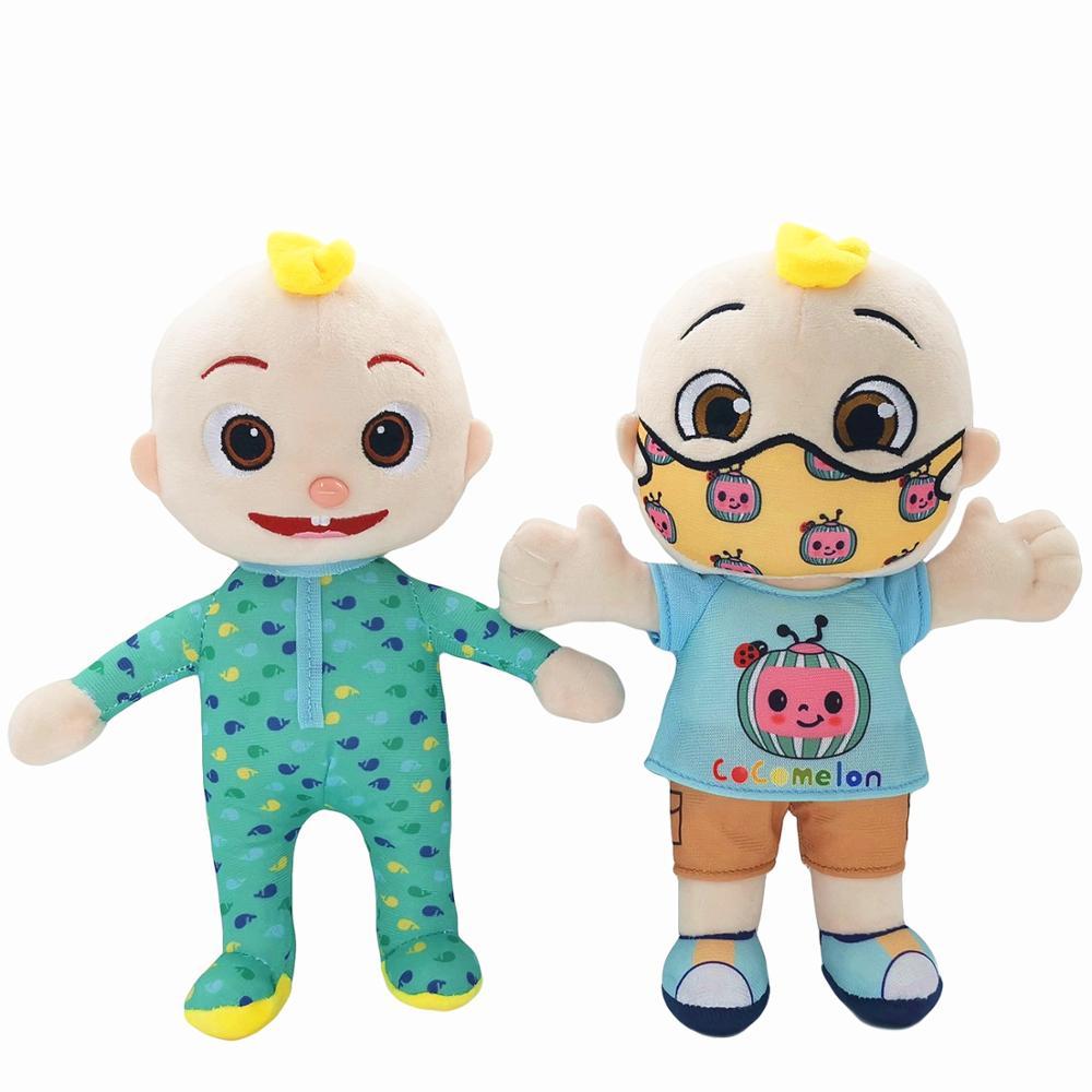 Cocomelon yastık yumuşak oyuncaklar bebek peluş JJ bebek eğitici doldurulmuş oyuncaklar çocuk hediye sevimli oyuncak noel hediyesi