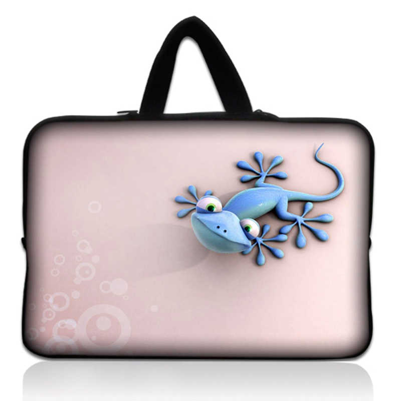 Gecko Waterdichte Notebook Laptop Sleeve Bag Case Computer Cover Pouch Voor Tablet Pc 9.7 10 12 13 14 15 15.6 17.3 17.4 Inch # X