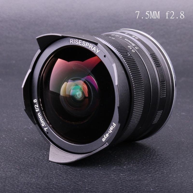 Ручная фиксированная линза для Olympus Panasonic Micro 7,5 M4/3