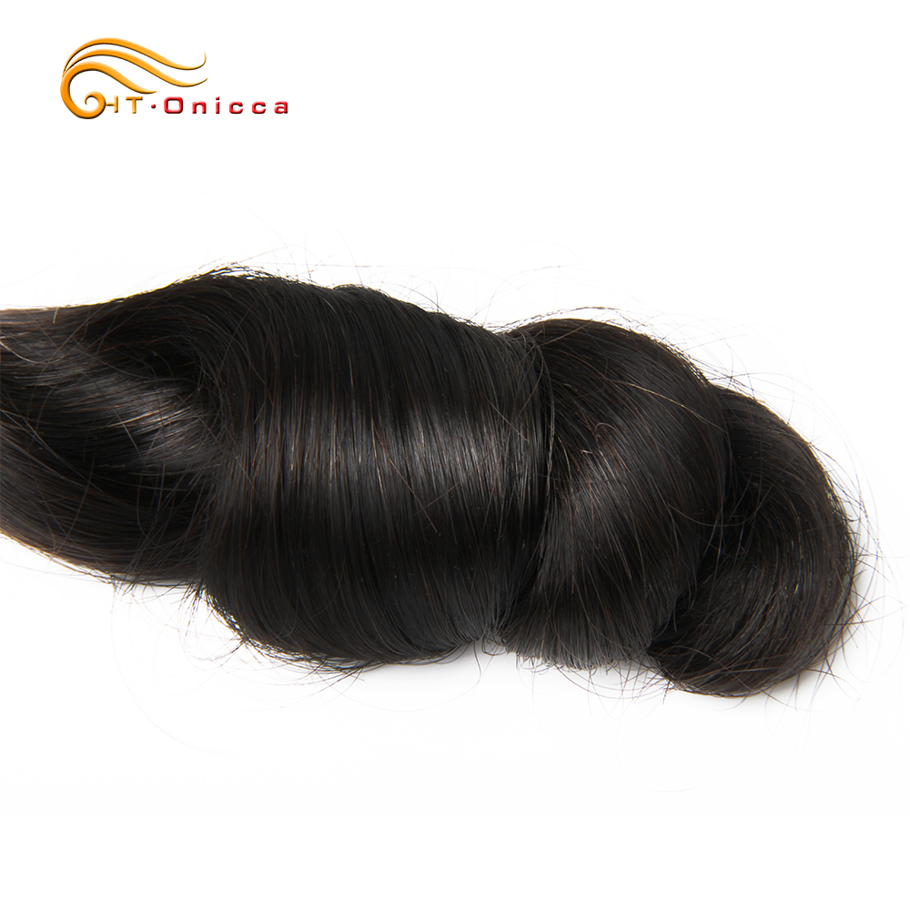 Funmi Hair Double Drawn 5pcs/Lot Egg Curl  Hair  Flexi /Pissy /Pixie Spring Curl   Bundles 3