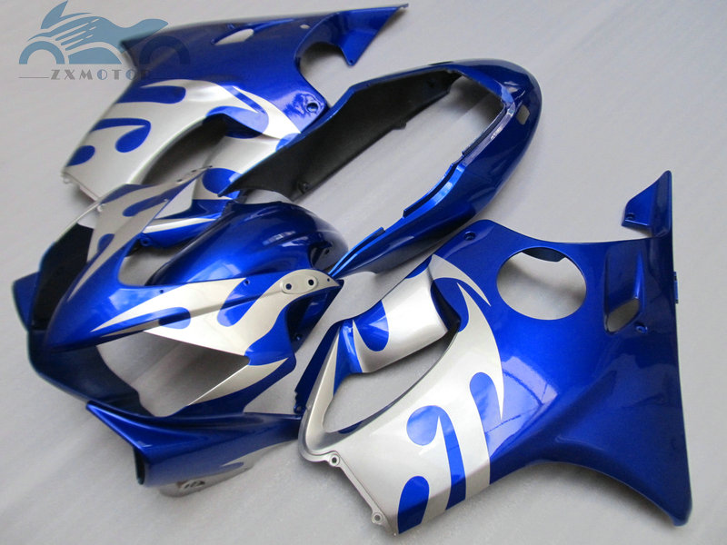 High grade Injection fairing kit fit for <font><b>Honda</b></font> CBR 600F4i 2001 2002 2003 <font><b>CBR600F4i</b></font> 01 02 03 ABS plastic fairing kits <font><b>parts</b></font> HT43 image