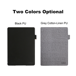 10.3 PU Leather Folio Case Cover Upgraded Lightweight with Auto Sleep/Wake Function for BOOX Note Android Tablets (Grey)