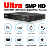 5MP AHD 16 Channel AHD DVR NVR Hybrid 6 in 1 Video Recorder for 5MP 1080P TVI CVI CVBS AHD IP CCTV Security Camera with 4TB HDD review