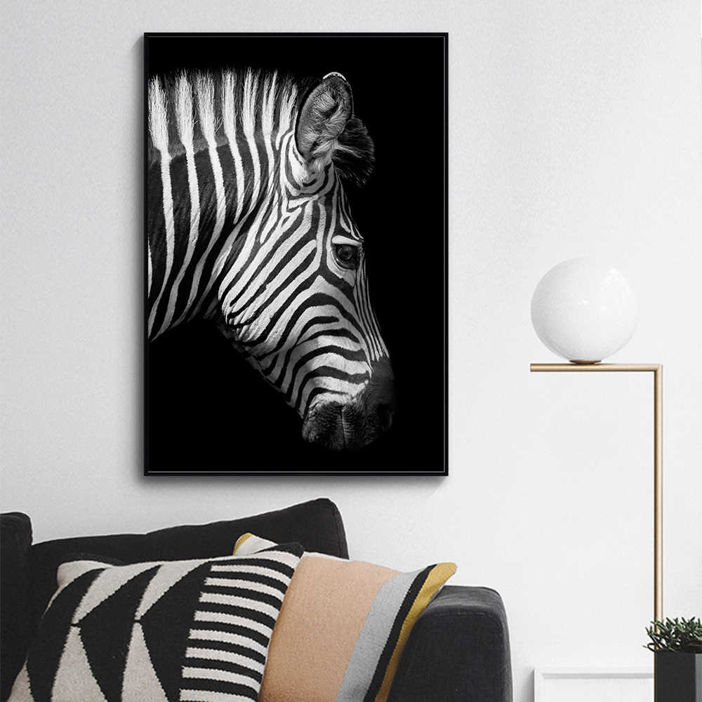 AAVV  Canvas Painting  Wall Art Canvas Print Animal Portrait Poster Picture For Living Room Home Decor No Frame