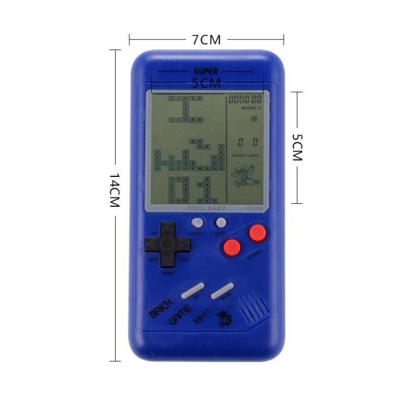 Сайт coolbaby RS99 ретро портативных игровых консолей 3,5-дюймовый портативный игровой консоли контроллер для подарок Тетрис игры детские