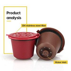Image 2 - 3 ピース/パックネスプレッソカプセル再利用可能なコーヒーフィルター詰め替えカフェポッドプラスチックオリジナルラインネスレ機coffeewareツール