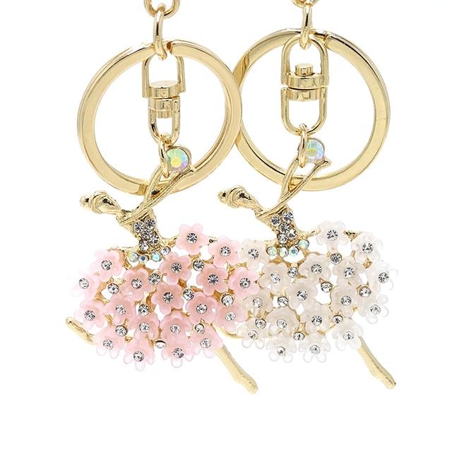 Creative Keychain Alloy Rhinestone Female Angel Keychain Handbag Pendant Car Keychain Woman Jewelry Man Jewelry Belt Buckle 3