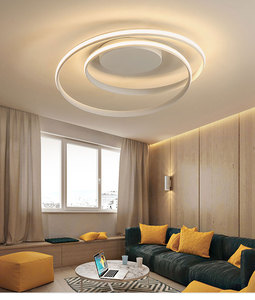 Image 3 - APP control Simple Acrylic Modern Ceiling Lights For Home Living Room Bedroom Kitchen Ceiling Lamp Home Lighting Fixtures