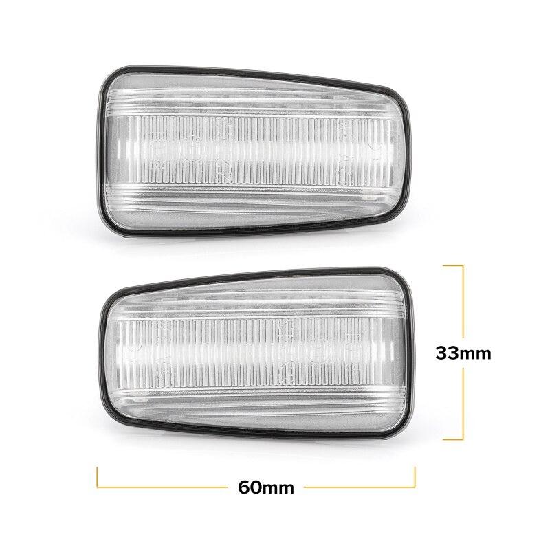 Image 4 - Dynamic LED Side Marker Light Signal Blinker for Citroen Berlingo Jumpy Saxo Xantia Xm ZX Peugeot 106 306 406 806 EXPERT PARTNERSignal Lamp   -