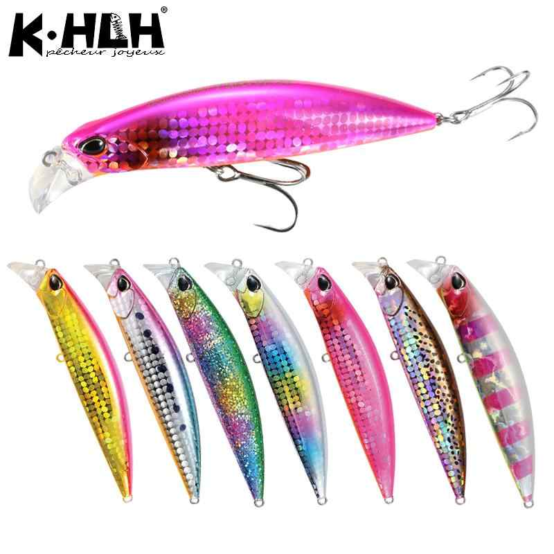 Fishing Lure Bait 30g 95mm Sinking Minnow Hard Bait Fishing Wobblers Perch Pike Salmon Trout Bass Lures