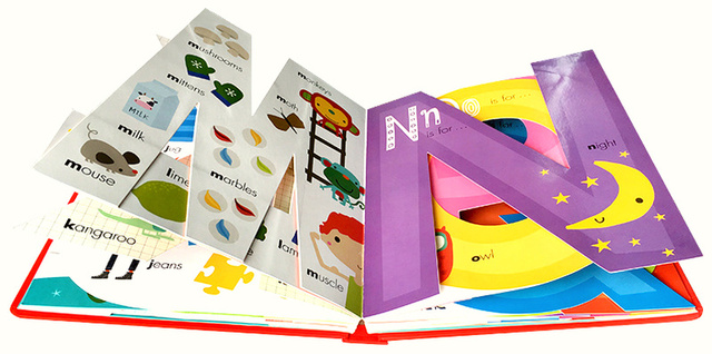 2 Books / Set My Awesome Counting Book Original English Cardboard Books Baby Kids Math Learning Educational Book Shaped Pages 5