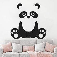 Vinyl Wall sticker for kids room decoration Panda Nursery Decal Animal Children Kids Bedroom decor HQ095