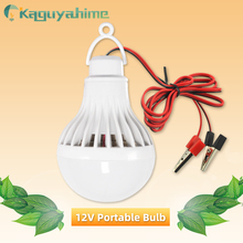 Portable Hang Light Lamp With Clip DC 12V LED Bulb Ultra Bright 3W 5W 7W 9W 12W 15W Outdoor Party Camp Night Fishing Emergency cheap Kaguyahime CN(Origin) ROHS Plastic LED Bulbs Portable Lanterns Outdoor Party Wild Camping Real Watt Aluminum Cooling High Bright