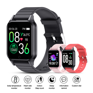 Image 4 - T96 Body Temperature Smart Watch Men Women Heart Rate Monitor Blood Pressure Fitness Tracker Bluetooth Smart  For Android IOS
