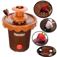 Fondue-Maker Party-Waterfall Melting-Machine Cake Cookies Mini for Fruits Marshmallows