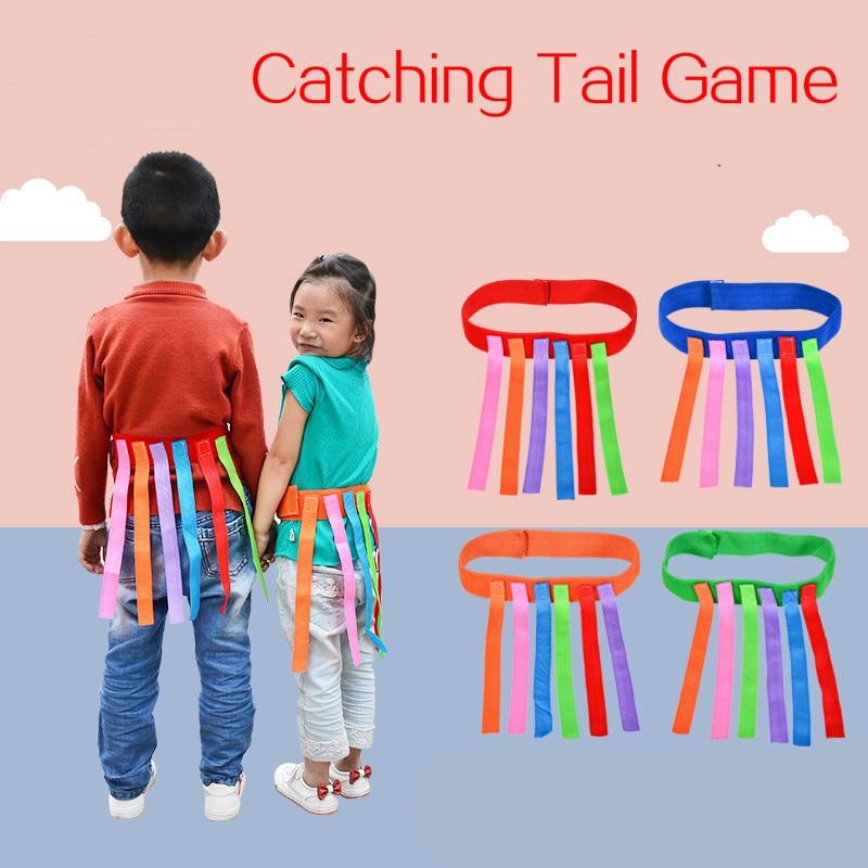 Enfants en plein air jeu drôle attraper queue équipement de formation jouets pour enfants adultes maternelle garçons filles travail déquipe Sport jeu jouet