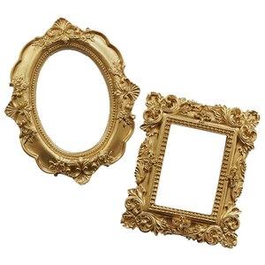 Image 5 - Fotografie Achtergronden Zijden Doek & Gouden Vintage Fotolijst Schieten Studio Props Achtergrond Fotografia Voor Sieraden Oorbellen Ring