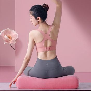Bloki jogi Pilates wałek piankowy akcesoria do jogi maszyna do jogi wałek do masażu poduszka do jogi poduszka do medytacji tanie i dobre opinie CN (pochodzenie) blocks